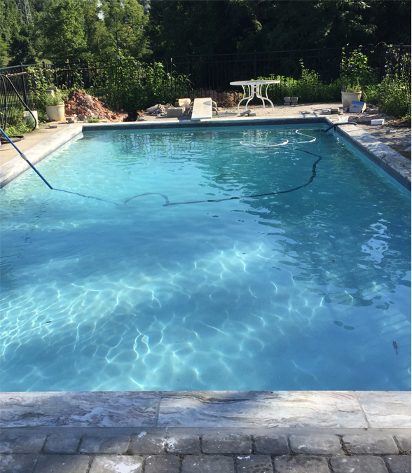 Pool Repair After